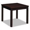 Laminate Occasional Table, Rectangular, 24w x 20d x 20h, Mahogany