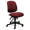 HON 7700 Series Asynchronous Swivel/Tilt Task Chair, Seat Glide, Burgundy