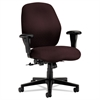 HON 7800 Series Mid-Back Task Chair, Tectonic Wine