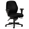 7800 Series High-Performance Mid-Back Task Chair, Tectonic Black