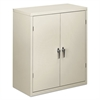 HON Assembled Storage Cabinet, 36w x 18-1/4d x 41-3/4h, Light Gray
