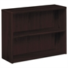 HON 10500 Series Laminate Bookcase, Two-Shelf, 36w x 13-1/8d x 29-5/8h, Mahogany