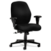 HON 7800 Series Mid-Back Task Chair, Tectonic Black