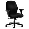 HON 7800 Series Mid-Back Task Chair, Tectonic Black