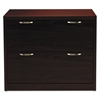 HON Valido 11500 Series Two-Drawer Lateral File, 36w x 20d x 29 1/2h, Mahogany