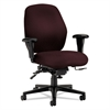 7800 Series High-Performance Mid-Back Task Chair, Tectonic Wine