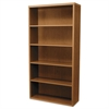 Valido 11500 Series Bookcase, Five-Shelf, 36w x 13-1/8d x 71h, Bourbon Cherry