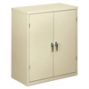 HON Assembled Storage Cabinet, 36w x 18-1/4d x 41-3/4h, Putty