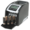 Royal Sovereign Fast Sort FS-44P Digital Coin Sorter, Pennies Through Quarters, Black/Silver