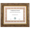 NuDell Executive Series Document and Photo Frame, 8 1/2 x 11, Gold Frame