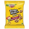 Mini Cookies, Fudge Stripes, 2oz Snack Pack, 8/Box