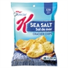 Special K Cracker Chips, Sea Salt, 6/Box