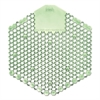Wave 3D Urinal Deodorizer Screen, Green, Cucumber Melon Fragrance,10 Screens/Box