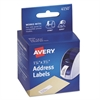 Avery Thermal Printer Address Labels, 1 1/8 x 3 1/2, White, 130/Roll, 2 Rolls