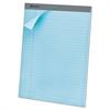 Ampad Pastels Pads, 8 1/2 x 11 3/4, Blue, 50 Sheets, Dozen