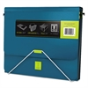 "Samsill TRIO 3-in-1 Binder Organizer, 11 x 8 1/2, 1"" Capacity, Turquoise"