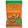 Organic Cheddar Snack Mix, 2.5 oz Bag, 12/Carton