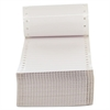Dot Matrix Printer Labels, 1 Across, 3-1/2 x 7/16, White, 5000/Box
