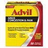 Advil Sinus Congestion & Pain Relief, 50/Box