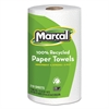 Marcal 100% Recycled Roll Towels, 8 3/4 x 11, 210 Sheets, 12 Rolls/Carton