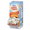 Coffee-mate Liquid Coffee Creamer, Pumpkin Spice, 0.375 oz Mini Cups, 50/Box