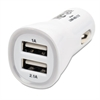 Tripp Lite Dual Port USB/Tablet/Phone Car Charger, High Power 5V/3.1A