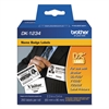 "Die-Cut Name Badge Labels, 2-3/10"" x 3-2/5"", White, 260/Roll"