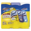 LYSOL Brand Disinfecting Wipes, Crisp Linen/Early Morn/Lemon Lime, 7 x 8, 4/Carton