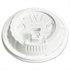 Plastic Lids for 12,16,20,24 oz Foam Cups, Reclose Sip-Thru, ID, White, 1000/Ctn