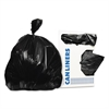 Low-Density Can Liners, 33 gal, 0.65 mil, 33 x 39, Black, 250/Carton