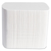 Dispenser Napkins, Interfolded, 2-Ply, 6 1/2 x 8 1/4, White, 500/Pack, 12 Pk/Ctn