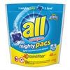 All Mighty Pacs Super Concentrated Laundry Detergent, 48 Pacs