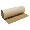 "Boardwalk Singleface B-Flute Corrugated Kraft, 36"" x 250 ft, Brown"