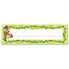 "Carson-Dellosa Publishing Desk Nameplates, Monkeys, 9 1/2"" x 3"", 36/Set"
