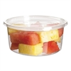 Round Deli Containers, PLA, 12 oz, Clear, 500/Carton