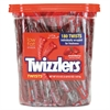 Twizzlers Strawberry Twizzlers Licorice, Individually Wrapped, 180/Tub