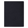 Fellowes Linen Texture Binding System Covers, 11-1/4 x 8-3/4, Navy, 50/Pack