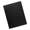 Linen Texture Binding System Covers, 11-1/4 x 8-3/4, Black, 200/Pack