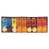 Cookies and Crackers, Assorted, 1.38 oz per Pack, 45 Packs/Box
