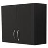 Alera Plus Hospitality Wall Cabinet, Two Doors, 36w x 14 3/16d x 29 3/4h, Espresso