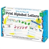 Carson-Dellosa Publishing Write-On/Wipe-Off Print Alphabet Letters Activity Set, Ages 4 and Up