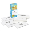 Publishing Flash Cards, Basic Sight Words, 3w x 6h, 102/Pack