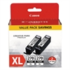 Canon 0319C005 (PGI-270XL) High-Yield Ink, Black, 2/PK