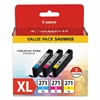 Canon 0337C005 (CLI-271XL) High-Yield Ink, Cyan/Magenta/Yellow