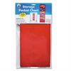 Carson-Dellosa Publishing Storage Pocket Chart with 10 13 1/2 x 7 Pockets, Hanger Grommets, 14 x 47