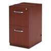 Mayline Aberdeen Series File/File Credenza Pedestal, 15¼w x 20d x 27½h, Cherry
