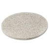 "Natural Hair Extra High-Speed Floor Pads, Natural, 20"" Diameter, 5/Carton"