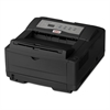Oki B4600n Series Digital Monochrome Printer, 120V, Black