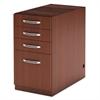 Aberdeen Series PBBF Laminate Desk Pedestal, 15¼w x 26½d x 27½h, Cherry
