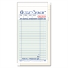 National Checking Company Two-Part Carbonless GuestCheck Pad, 3 1/2 x 6 3/4, 50 Sets/Book, 50 Books/Carton